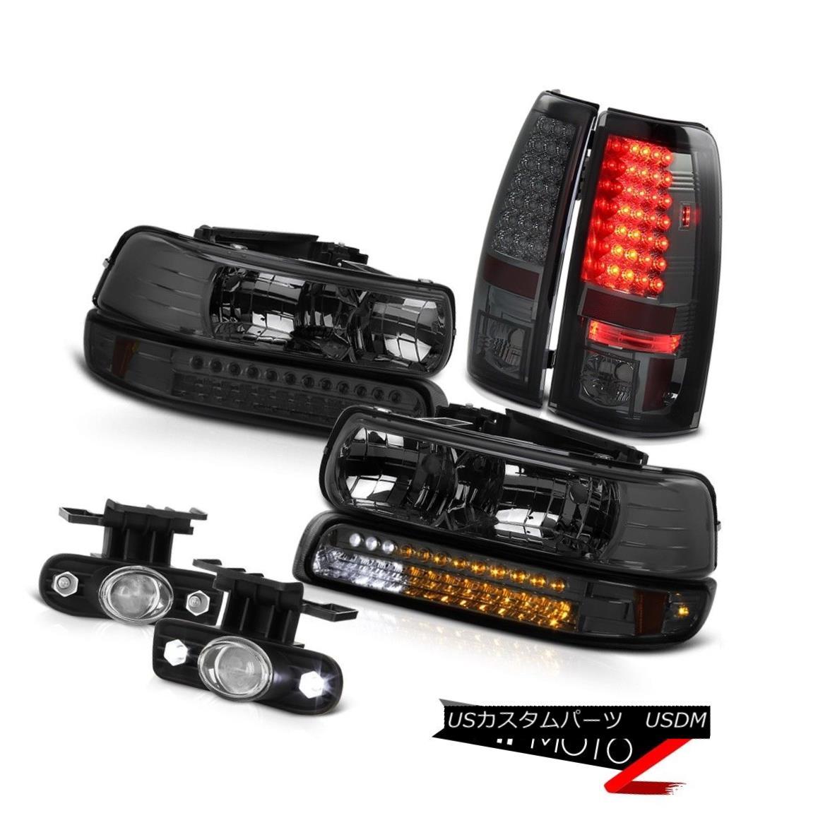 テールライト 99-02 Chevrolet Silverado 1500 Headlight LED Bumper Tail Light Projector Foglamp 99-02シボレーシルバラード1500ヘッドライトLEDバンパーテールライトプロジェクターフォグライト