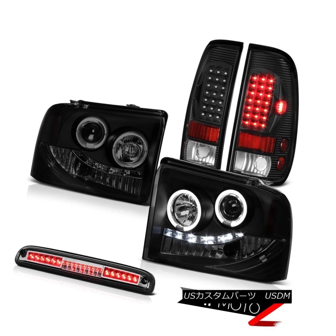 テールライト SMD DRL Headlamps Tail Lights Assembly LED Third Brake 2005-2007 F250 Amarillo SMD DRLヘッドランプテールライトアセンブリLED第3ブレーキ2005-2007 F250アマリロ