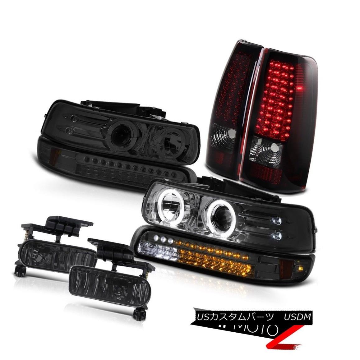 テールライト Headlights SMD Bumper LED Rear TailLights Driving Fog 99-02 Silverado Vortec Max ヘッドライトSMDバンパーLEDリアテールライトドライビングフォグ99-02 Silverado Vortec Max