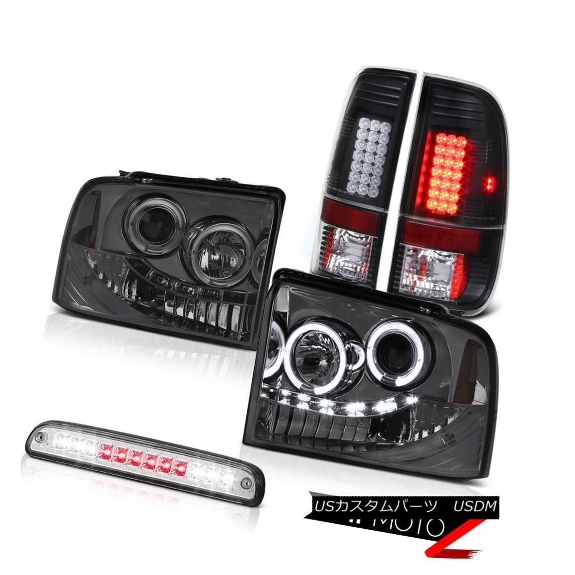 定番  テールライト Smoke Halo Headlights 2005-2007 XLT Black Brake Lights LED Tail Lights Chrome 3rd 2005-2007 F250 XLT スモークハローヘッドライトブラックブレーキLEDテールライトクローム3rd 2005-2007 F250 XLT, GLITTER DRESS:003074dc --- scrabblewordsfinder.net