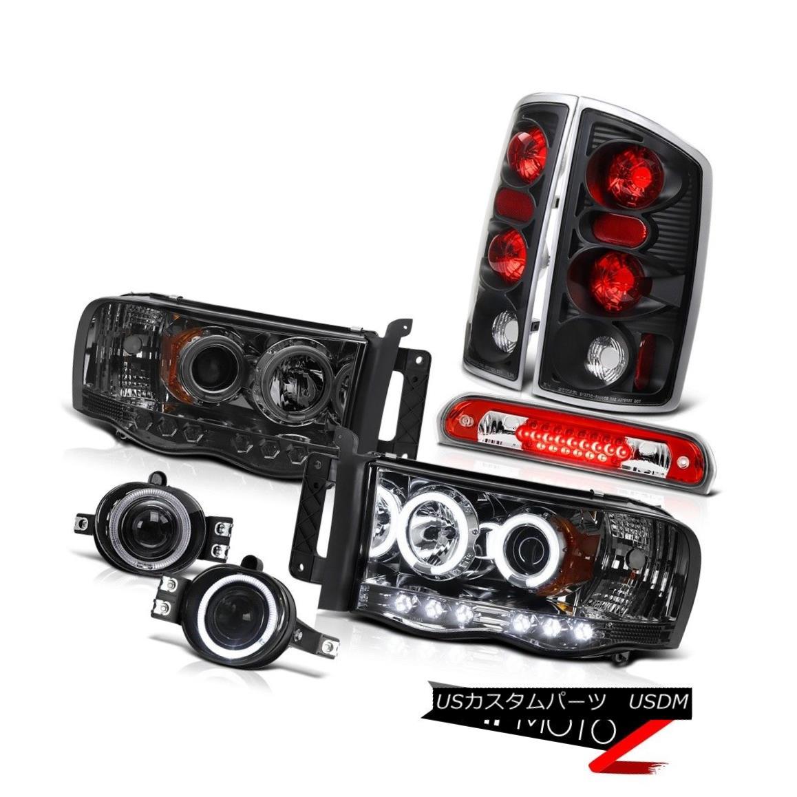 テールライト 02 03 04 05 Ram 3500 C.C.F.L Smoke Headlight Reverse Taillight Fog High Stop LED 02 03 04 05 Ram 3500 C.C.F.LスモークヘッドライトリバーステールライトフォグハイストップLED