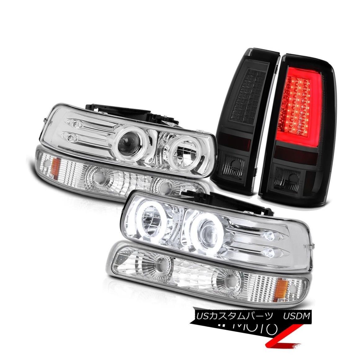 テールライト 99 00 01 02 Silverado 4.3L Smokey Tail Lamps Turn Signal Headlights Neon Tube 99 00 01 02 Silverado 4.3Lスモーキーテールランプターンシグナルヘッドライトネオンチューブ