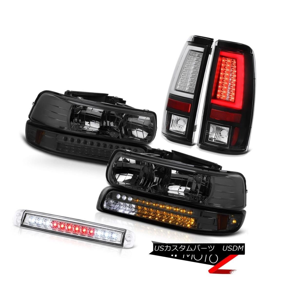 テールライト 99-02 Silverado 2500 Tail Lamps High Stop Light Signal Lamp Headlights OE Style 99-02 Silverado 2500テールランプハイストップランプ信号ランプヘッドライトOEスタイル