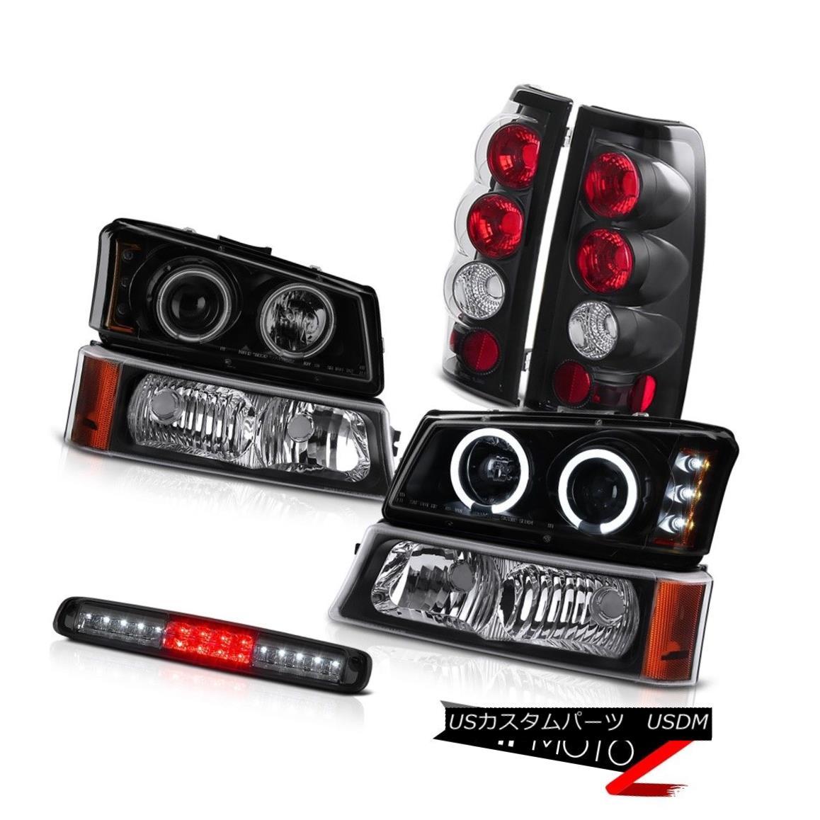 テールライト 03 04 05 06 Silverado 2500Hd Bumper Light High Stop Lamp Headlights Tail Lights 03 04 05 06 Silverado 2500Hdバンパーライトハイストップランプヘッドライトテールライト