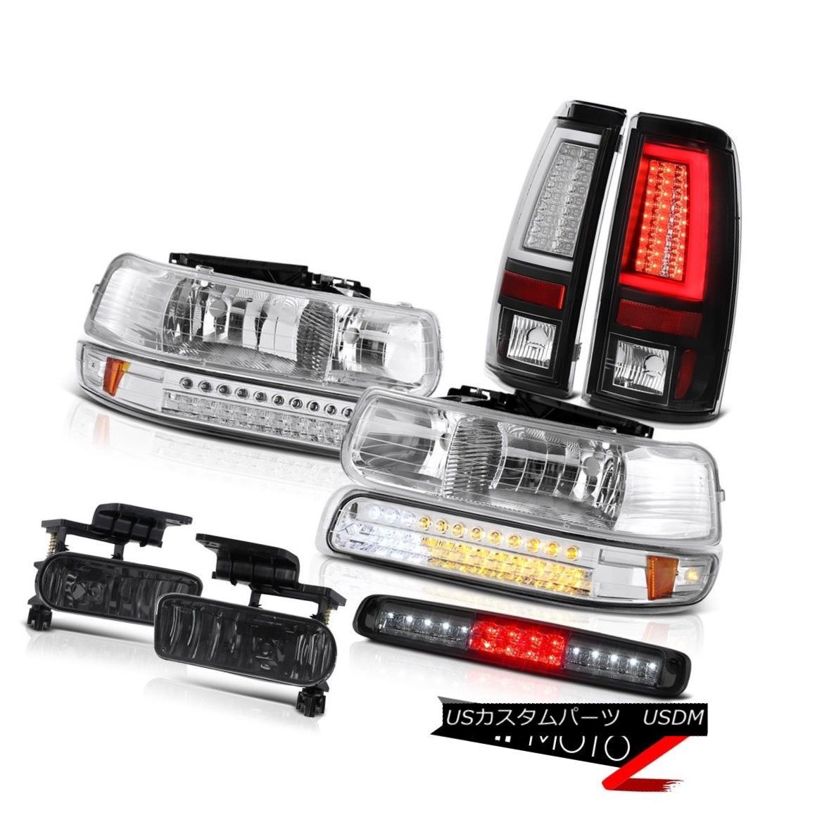 テールライト 99-02 Silverado LTZ Rear Brake Lights 3rd Light Headlights Fog Lamps OE Style 99-02 Silverado LTZリアブレーキライト3rdライトヘッドライトフォグランプOEスタイル