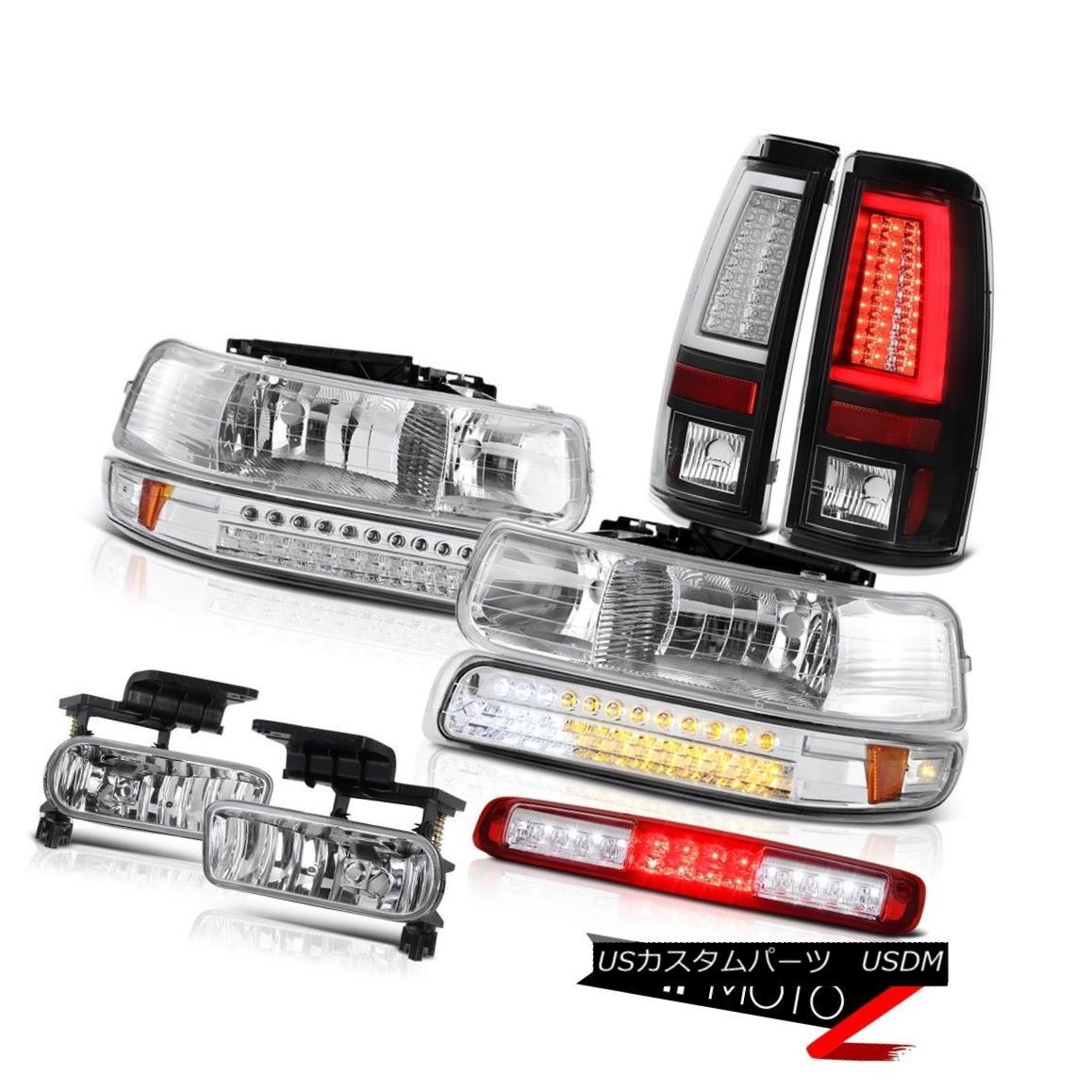 テールライト 99-02 Silverado 2500 Rear Brake Lights Roof Cargo Lamp Headlamps Foglamps LED 99-02 Silverado 2500リアブレーキライトルーフカーゴランプヘッドランプフォグランプLED