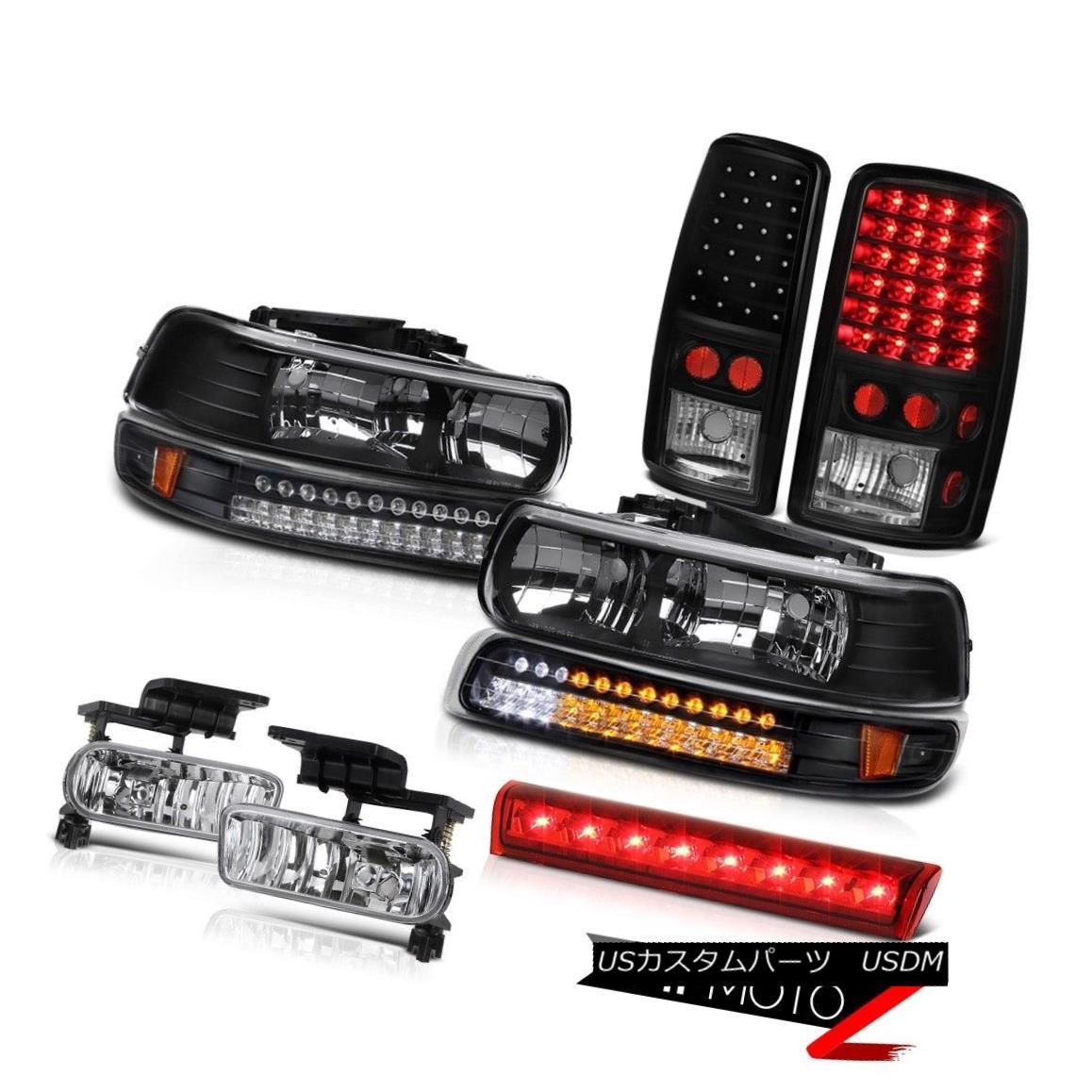 テールライト 00-06 Chevy Suburban Z71 Roof cargo light foglamps taillights bumper Headlamps 00-06シボレー郊外Z71ルーフカーゴライトフォグランプテールライトバンパーヘッドランプ