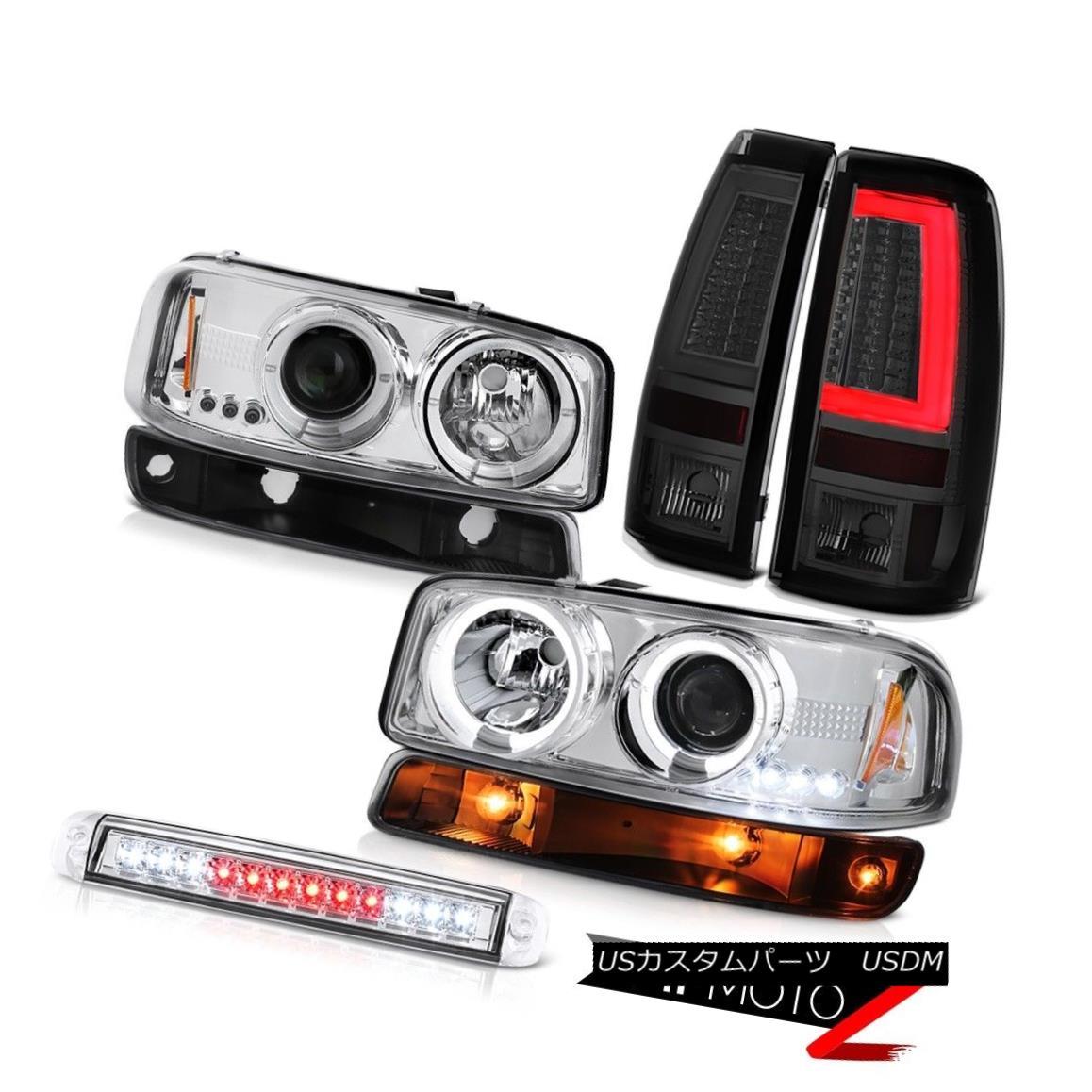 テールライト 99-06 Sierra SLT Tail Brake Lights Third Lamp Parking Light Headlamps Light Bar 99-06シエラSLTテールブレーキライト第3ランプパーキングライトヘッドランプライトバー