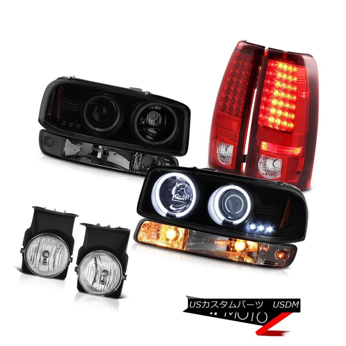テールライト 03-06 Sierra WT Euro chrome foglamps led tail lamps signal light headlights LED 03-06シエラWTユーロクロームフォグランプLEDテールランプ信号ライトヘッドライトLED