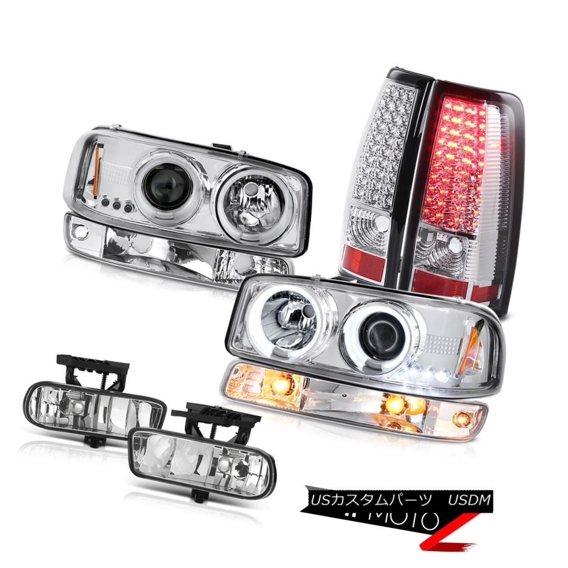テールライト 99 00 01 02 Sierra SL Fog lamps smd tail lights parking light ccfl headlamps 99 00 01 02 Sierra SLフォグランプsmdテールライトパーキングライトccflヘッドランプ