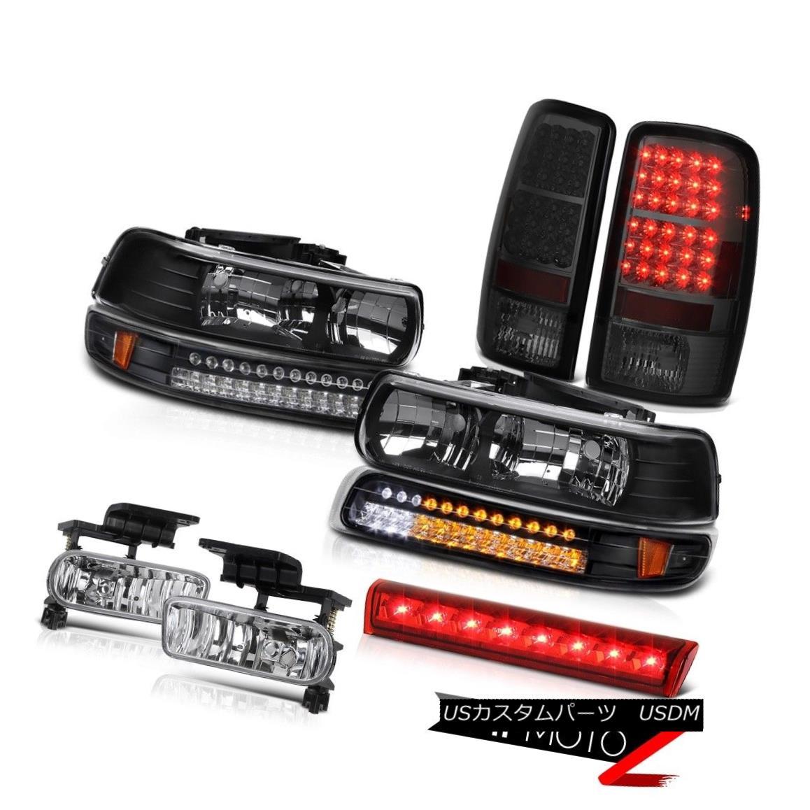 テールライト 2000-2006 Tahoe Z71 Roof brake lamp foglamps taillights black bumper Headlights 2000-2006タホZ71ルーフブレーキランプフォグランプテールライトブラックバンパーヘッドライト