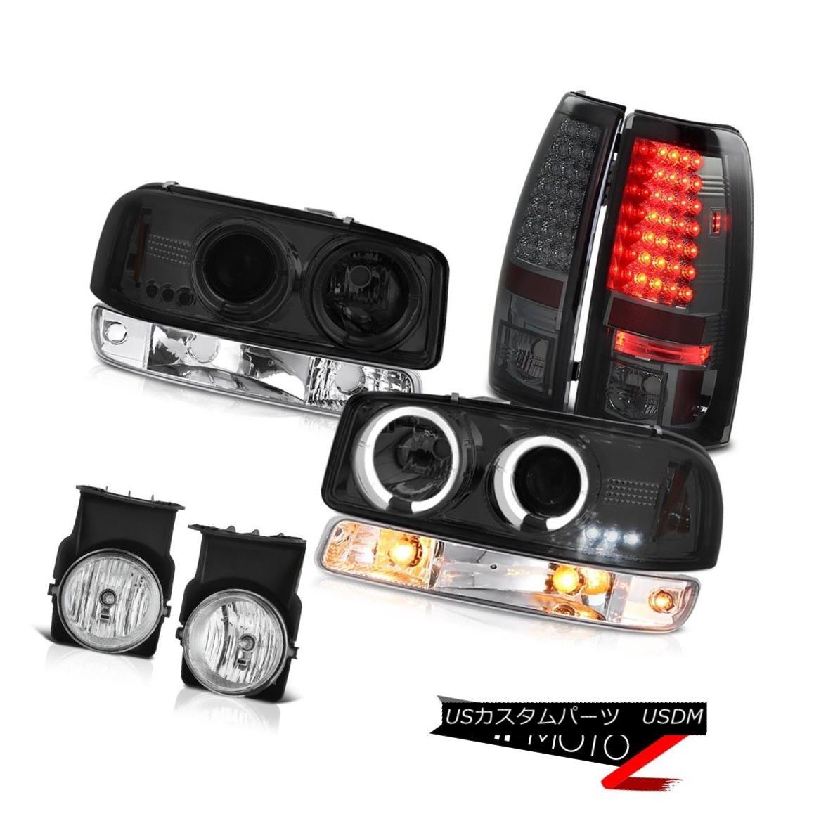 テールライト 03 04 05 06 Sierra C3 Fog lamps titanium smoke taillamps turn signal headlights 03 04 05 06シエラC3フォグランプチタン煙テールランプ信号ヘッドライト