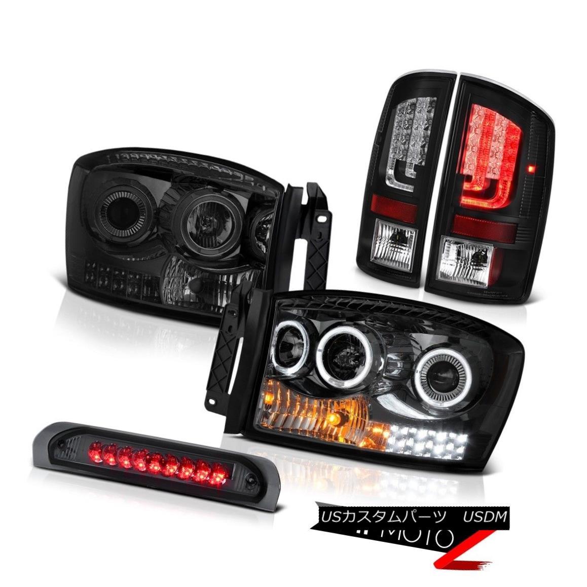 車用品・バイク用品 >> 車用品 >> パーツ >> ライト・ランプ >> テールライト テールライト 2006 Ram SLT Black Taillamps Dark Smoke Headlamps Roof Brake Lamp