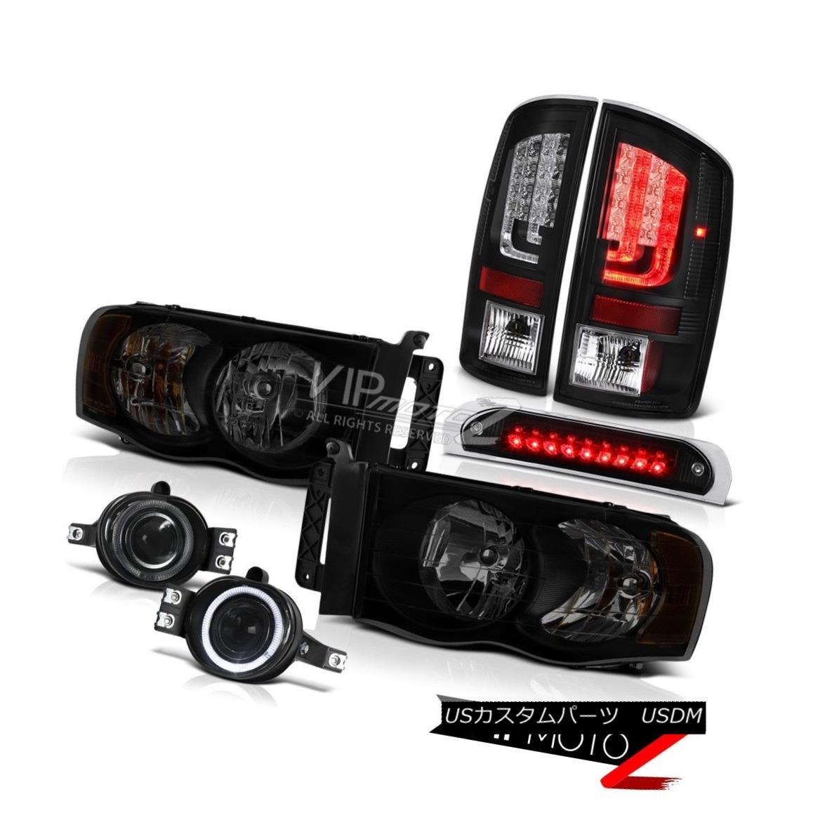 テールライト 2003-2005 Dodge Ram 1500 3.7L Tail Lamps Roof Cab Lamp Headlamps Fog Replacement 2003-2005ダッジラム1500 3.7Lテールランプルーフキャブランプヘッドランプフォグ交換
