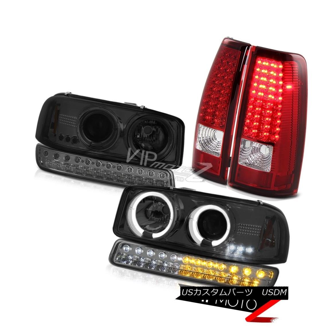 テールライト 99-06 Sierra SL SMD Tail Lamps Smokey Parking Light Headlamps LED