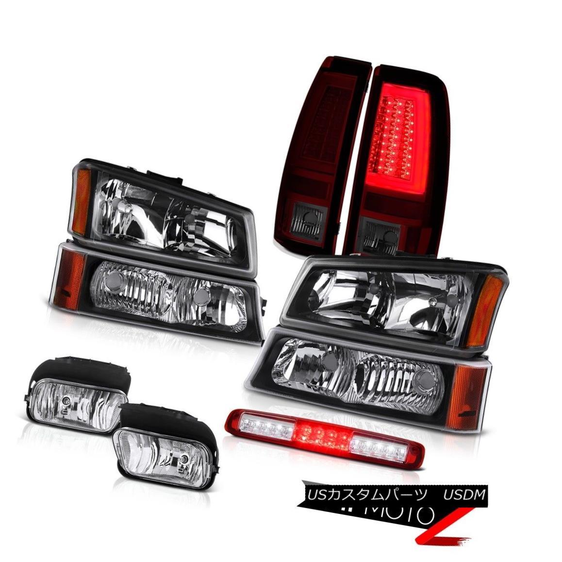 テールライト 03-06 Silverado 1500 Tail Lamps Fog Parking Lamp 3RD Brake Headlamps OLED Prism 03-06 Silverado 1500テールランプ霧駐車ランプ3RDブレーキヘッドランプOLEDプリズム