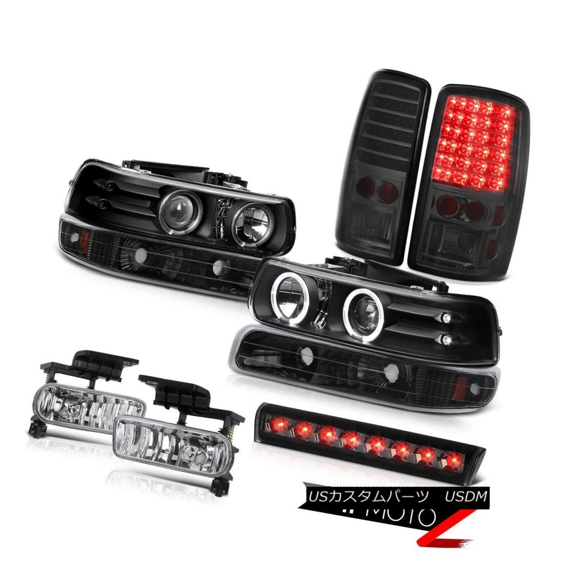 テールライト 2000-2006 Tahoe LS Third brake light foglamps taillights black parking Headlamps 2000-2006タホLS第3ブレーキライトフォグランプテールライトブラックパーキングヘッドランプ