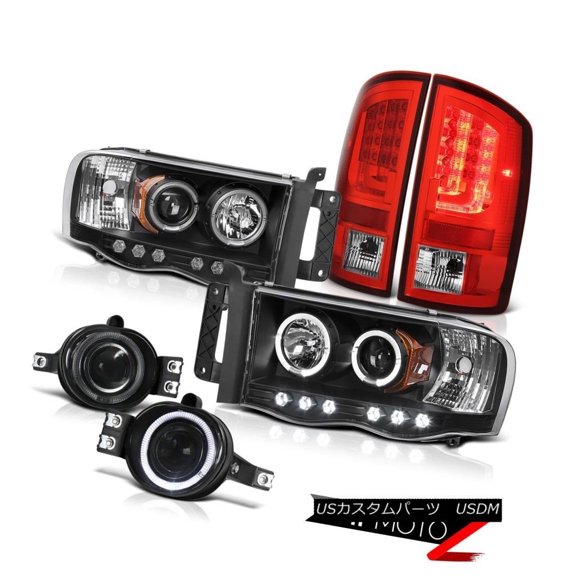 車用品・バイク用品 >> 車用品 >> パーツ >> ライト・ランプ >> テールライト テールライト 2003-2005 Dodge Ram 3500 5.7L Red Tail Lamps Headlights Fog LED