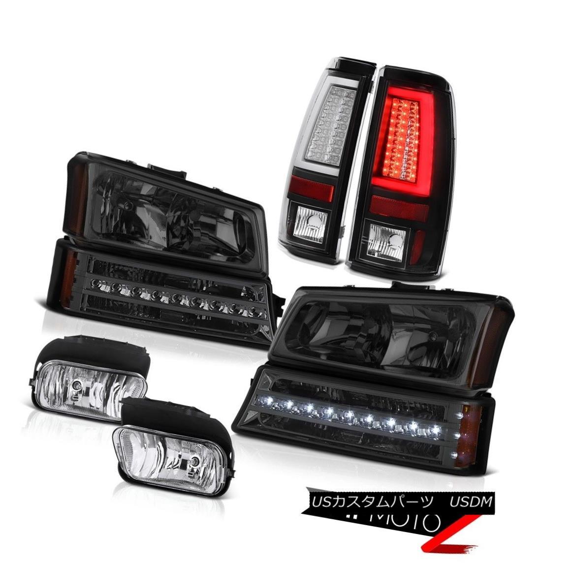 テールライト 2003-2006 Silverado Tail Brake Lamps Fog Headlamps Parking Light OLED Neon Tube 2003-2006シルバラードテールブレーキランプフォグヘッドランプパーキングライトOLEDネオンチューブ