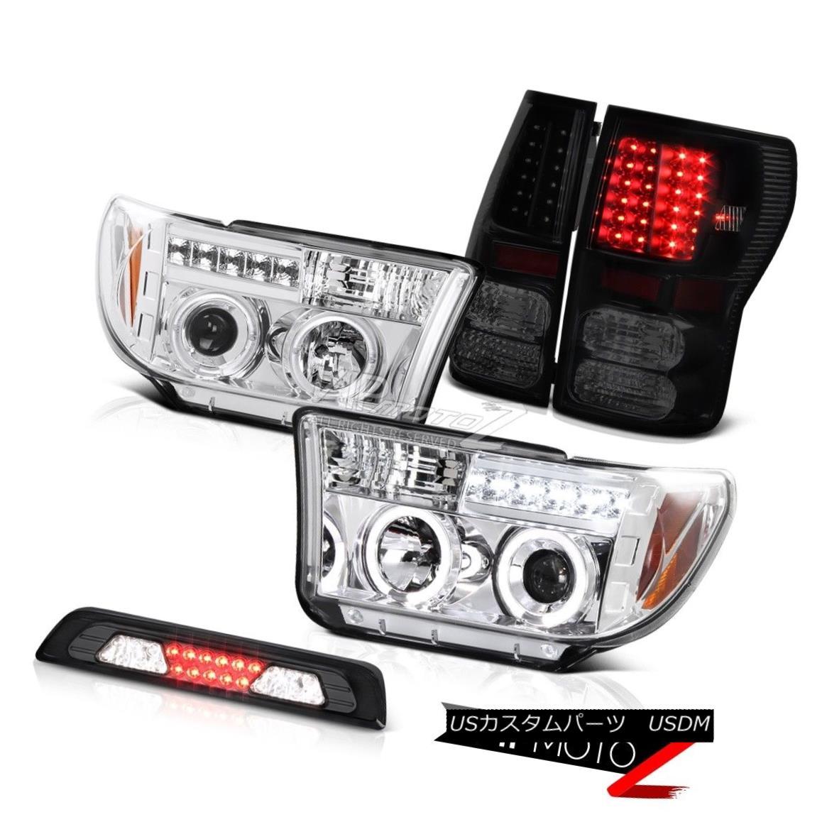 車用品・バイク用品 >> 車用品 >> パーツ >> ライト・ランプ >> テールライト テールライト 07-13 Toyota Tundra Limited Smokey Third Brake Lamp Taillights Headlamps LED DRL 07-13 Toyota Tundra Limitedスモーキー第3ブレーキランプテールライトヘッドランプLED DRL