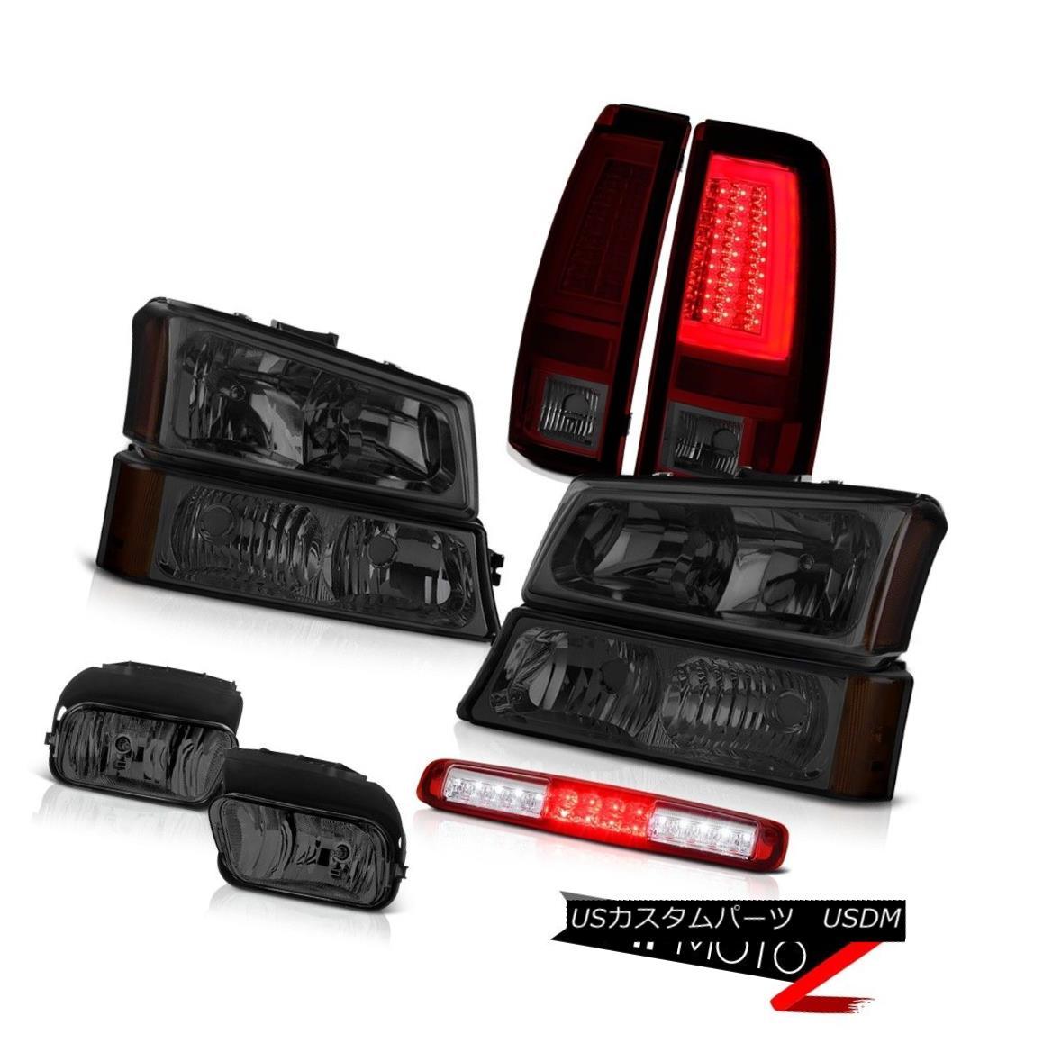 テールライト 03-06 Silverado Taillamps Foglamps Parking Lamp Roof Brake Headlights Tron Tube 03-06 Silverado TaillampsフォグランプパーキングランプルーフブレーキヘッドライトTron Tube