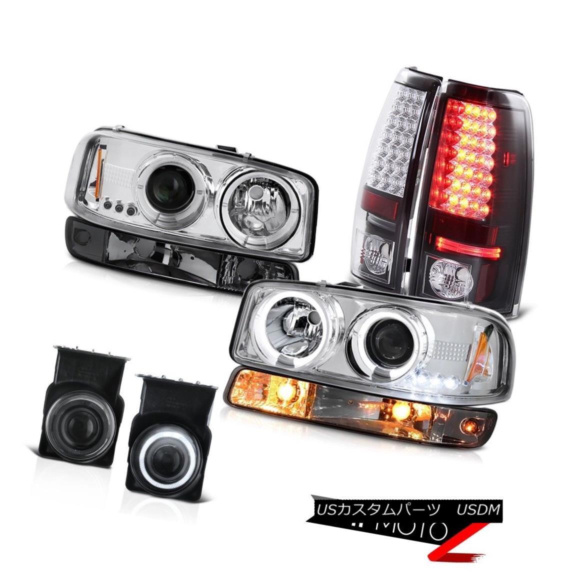 テールライト 2003-2006 Sierra 1500 Foglamps smd parking brake lights turn signal headlamps 2003-2006シエラ1500フォグランプsmdパーキングブレーキライト信号ヘッドライト