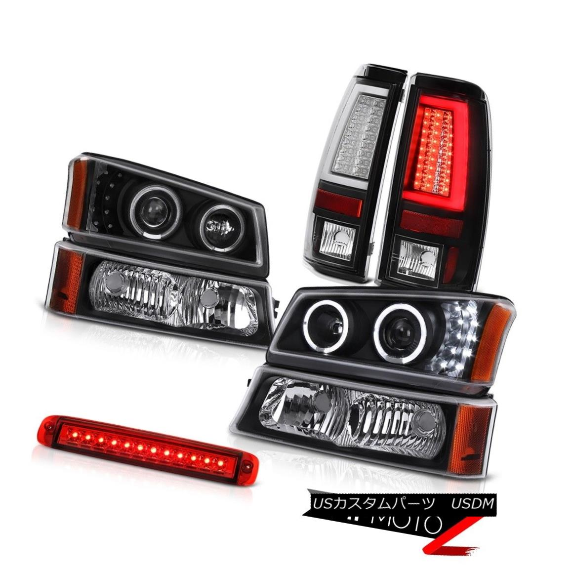 テールライト 2003-2006 Chevy Silverado Taillights High Stop Lamp Turn Signal Headlamps LED 2003-2006シボレーシルバラード灯台ハイストップランプターンシグナルヘッドランプLED