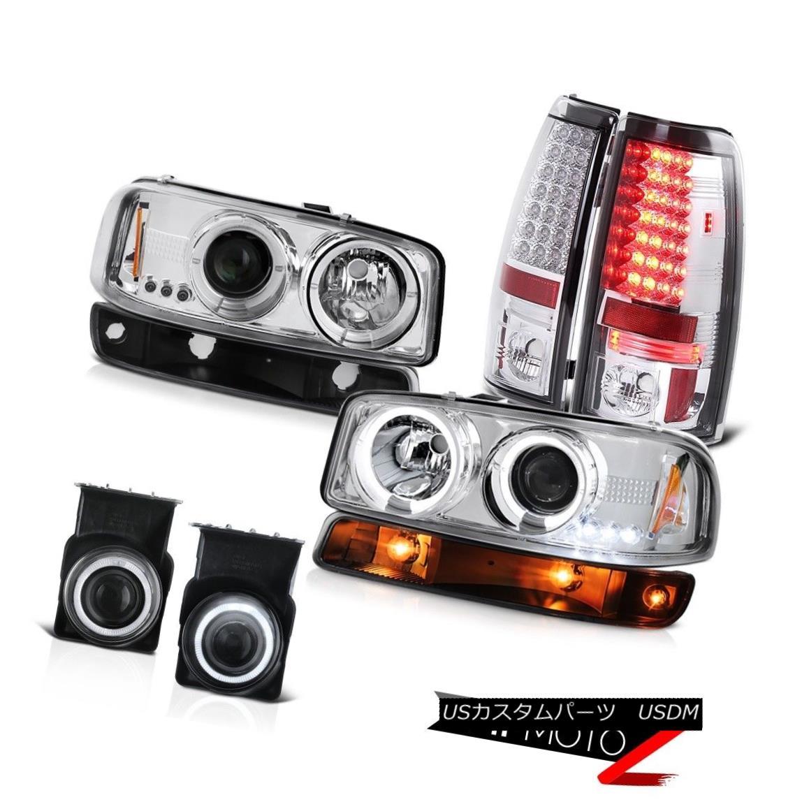 テールライト 2003-2006 Sierra 2500HD Foglamps tail lights bumper lamp headlights