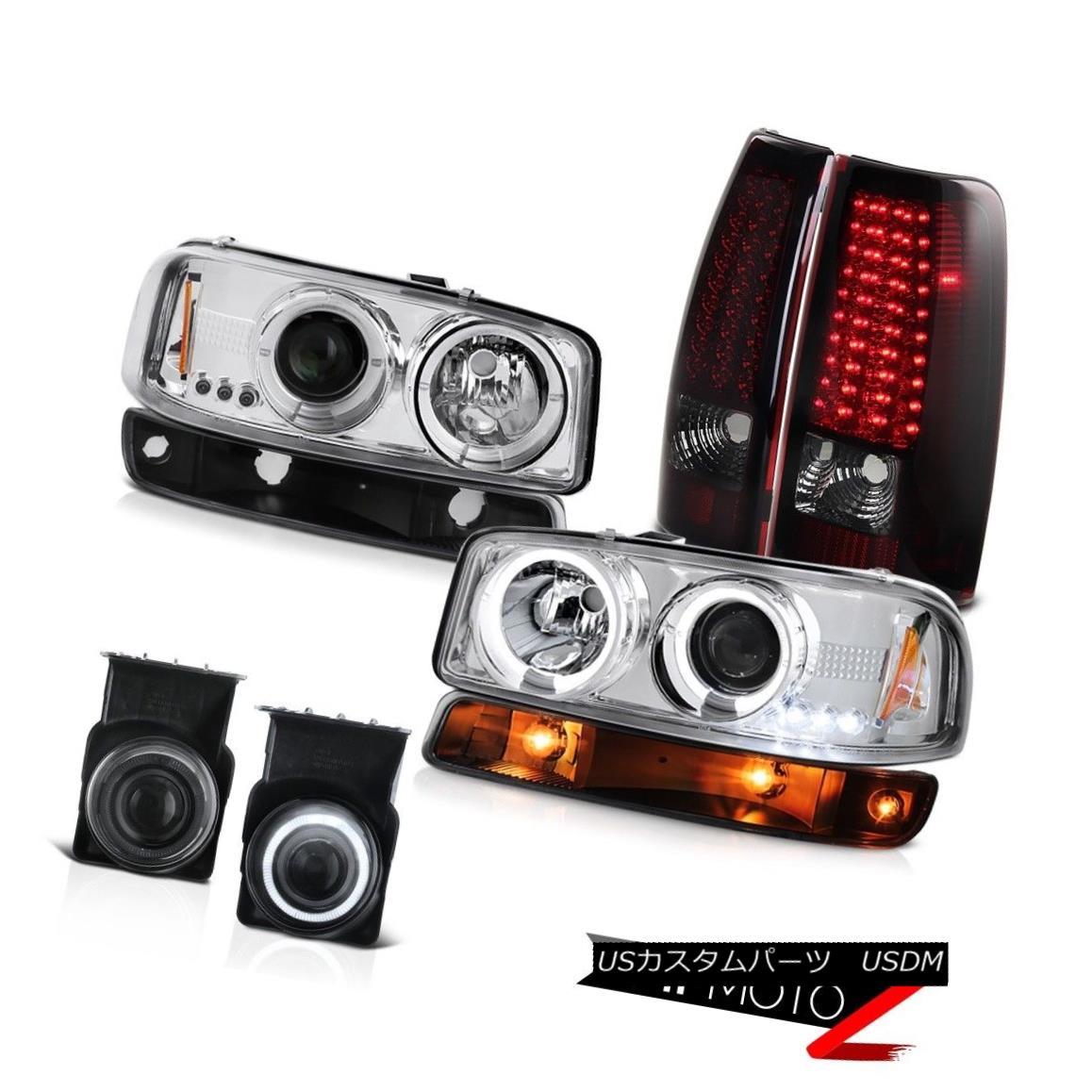 テールライト 03-06 Sierra 6.0L Foglights rosso burgundy smd taillamps signal lamp headlights 03-06 Sierra 6.0L Foglightsローソバーガンディsmdテールライトシグナルランプヘッドライト