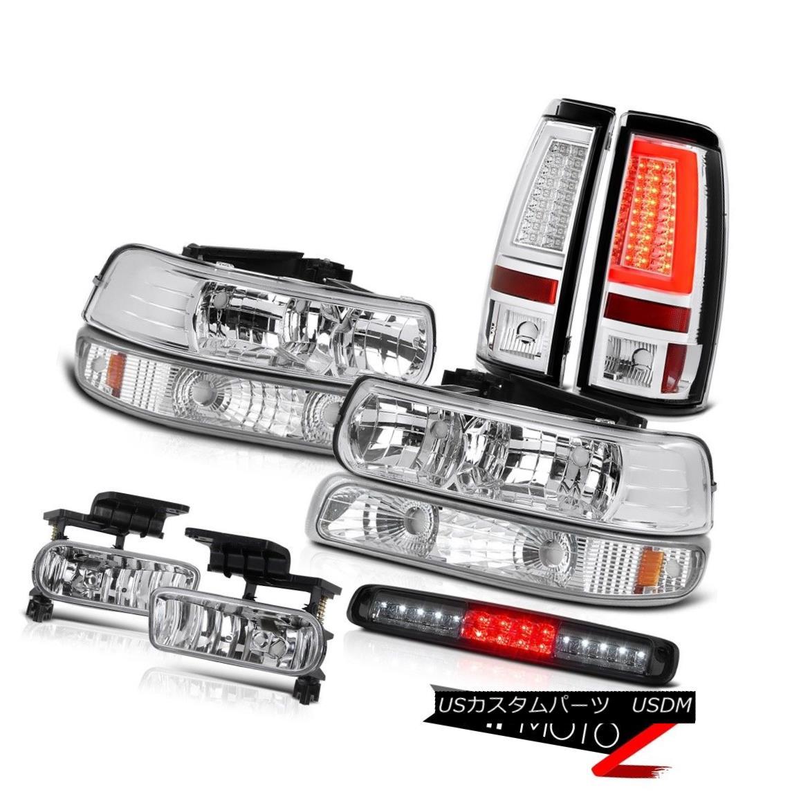 テールライト 99-02 Chevy Silverado Tail Lamps Parking Lamp Headlamps Roof Cab Light Foglights 99-02シボレーシルバラードテールランプパーキングランプヘッドランプルーフキャブライトフォグライト