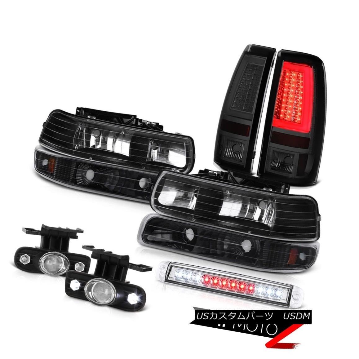 テールライト 99-02 Chevy Silverado Taillights High Stop Light Foglamps Foglights Bumper LED 99-02シボレーシルバラードテールライトハイストップライトフォグランプフォグライトバンパーLED