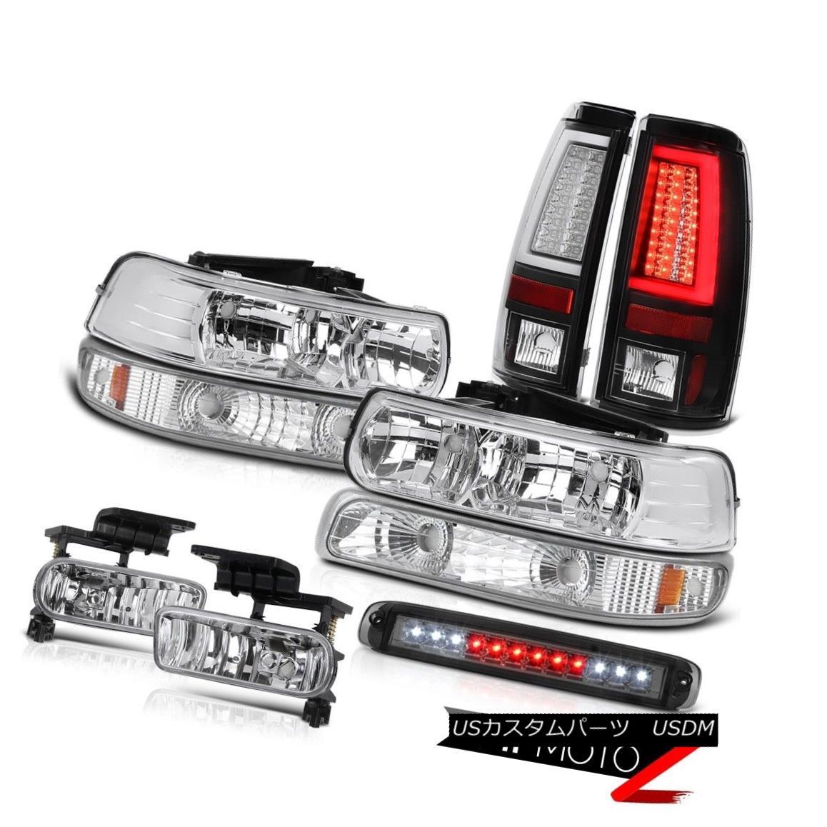 テールライト 99-02 Silverado LS Taillamps Roof Cargo Lamp Bumper Light Headlamps Foglamps LED 99-02 Silverado LS Taillamps屋根貨物ランプバンパーライトヘッドランプフォグランプLED