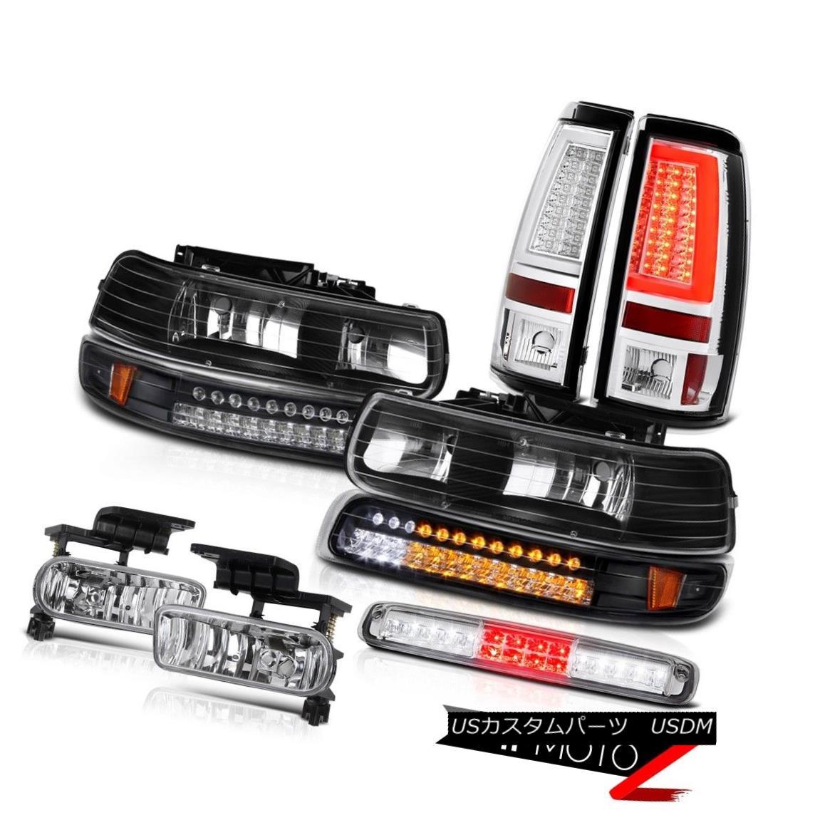 テールライト 99-02 Silverado 1500 Tail Lights Roof Cab Lamp Foglights Parking Light Projector 99-02 Silverado 1500テールランプルーフキャブランプフォグライトパーキングライトプロジェクター