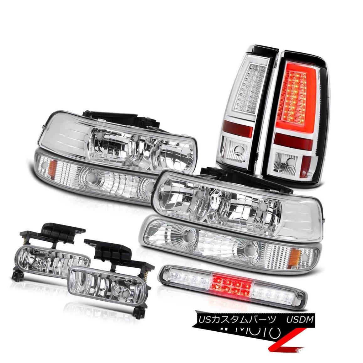 テールライト 99-02 Silverado Z71 Taillights Bumper Light Headlamps 3rd Brake Lamp Fog Lights 99-02 Silverado Z71テールライトバンパーライトヘッドランプ第3ブレーキランプフォグライト