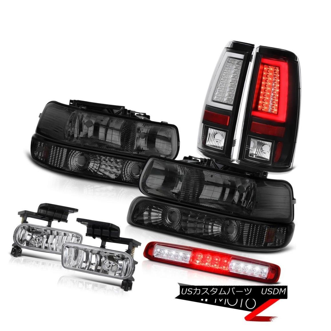 テールライト 1999-2002 Silverado Z71 Tail Lights Headlamps Bumper Lamp Third Brake Foglamps 1999-2002 Silverado Z71テールライトヘッドランプバンパーランプ第3ブレーキフォグランプ