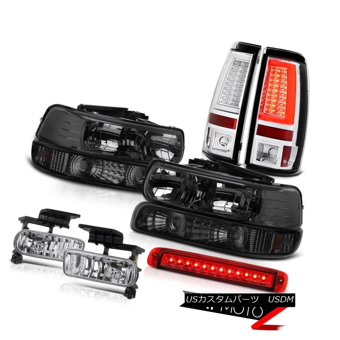 テールライト 99-02 Silverado 3500HD Taillamps 3rd Brake Lamp Bumper Headlamps Fog Lights LED 99-02 Silverado 3500HD Taillamps第3ブレーキランプバンパーヘッドランプフォグライトLED