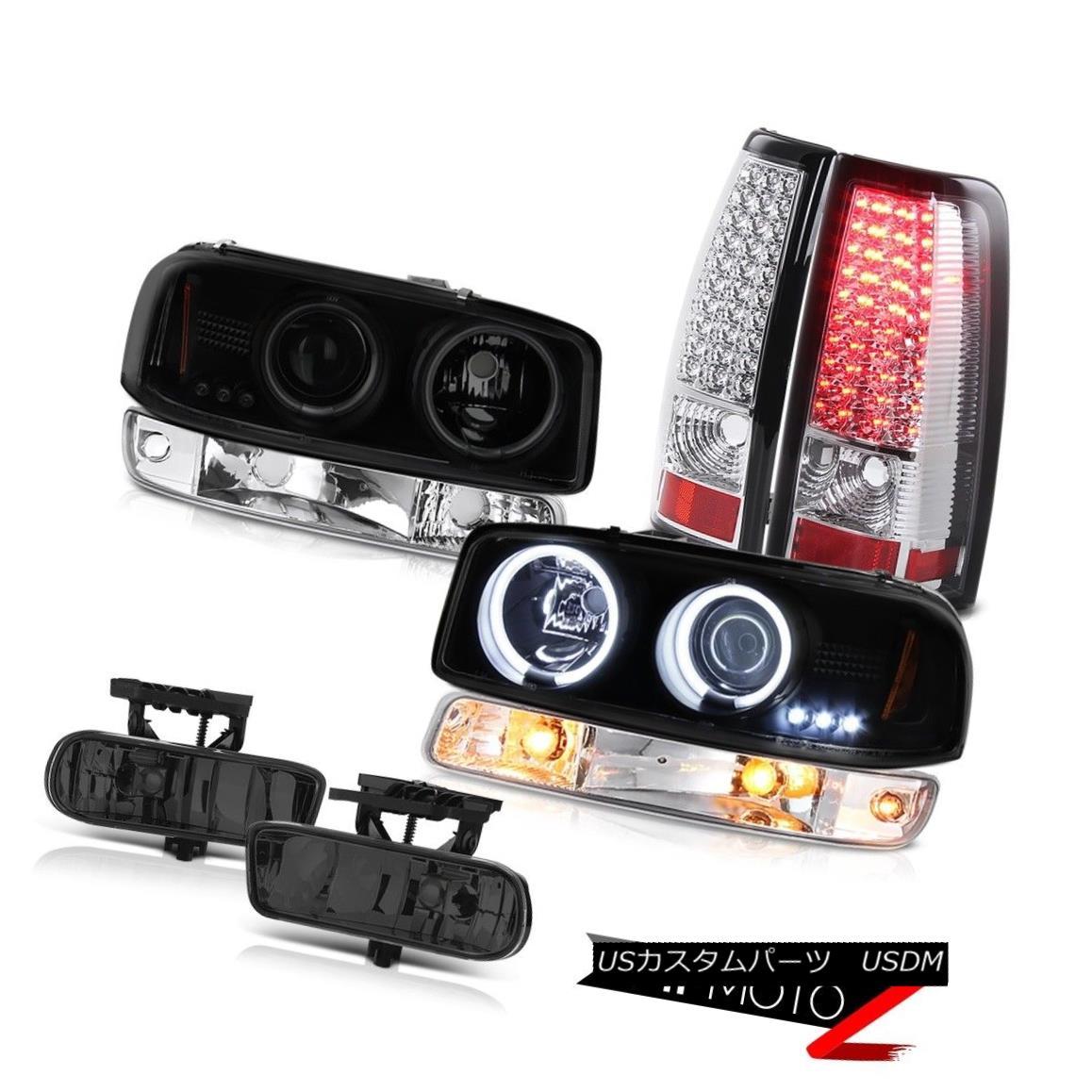 テールライト 99-02 Sierra C3 Smokey fog lights smd taillights bumper light ccfl headlamps 99-02シエラC3スモーキーフォグライトsmdテールライトバンパーライトccflヘッドライト