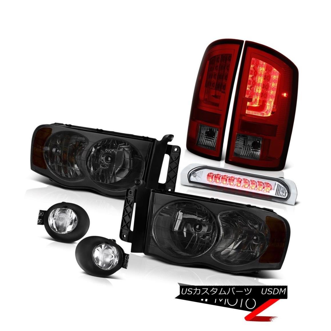 テールライト 02-05 Dodge Ram 1500 2500 ST Tail Brake Lamps Fog Headlamps Roof Cab Light LED 02-05 Dodge Ram 1500 2500 STテールブレーキランプフォグヘッドランプルーフキャブライトLED