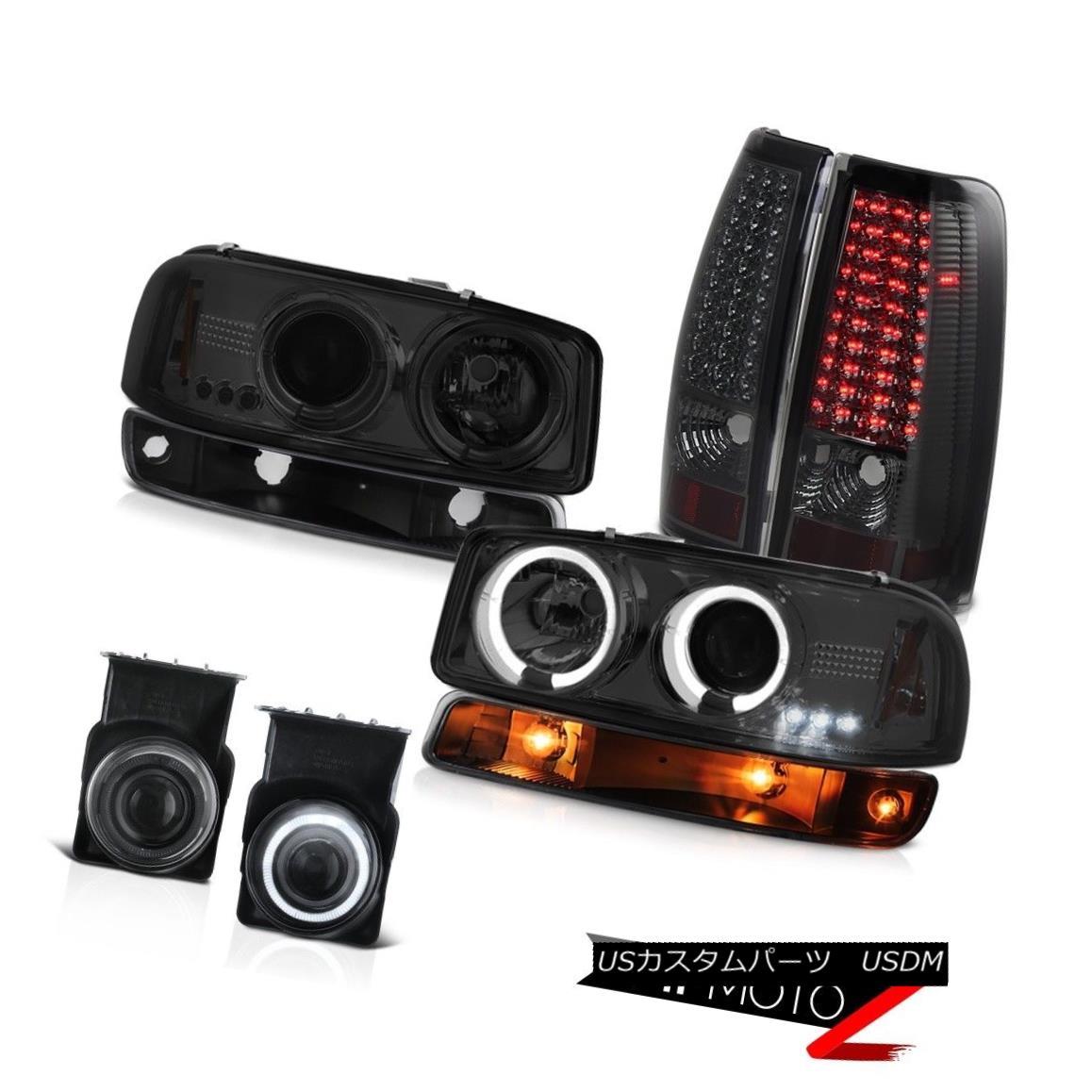テールライト 03-06 Sierra 4.3L Fog lamps smd taillights inky black parking light headlights 03-06シエラ4.3Lフォグランプsmdテールライトインクニーブラック駐車ライトヘッドライト