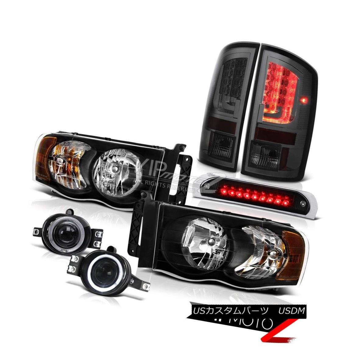テールライト 2003-2005 Dodge Ram 1500 4.7L Taillamps Roof Brake Light Headlamps Fog Lamps LED 2003-2005ダッジラム1500 4.7LテールランプルーフブレーキライトヘッドランプフォグランプLED