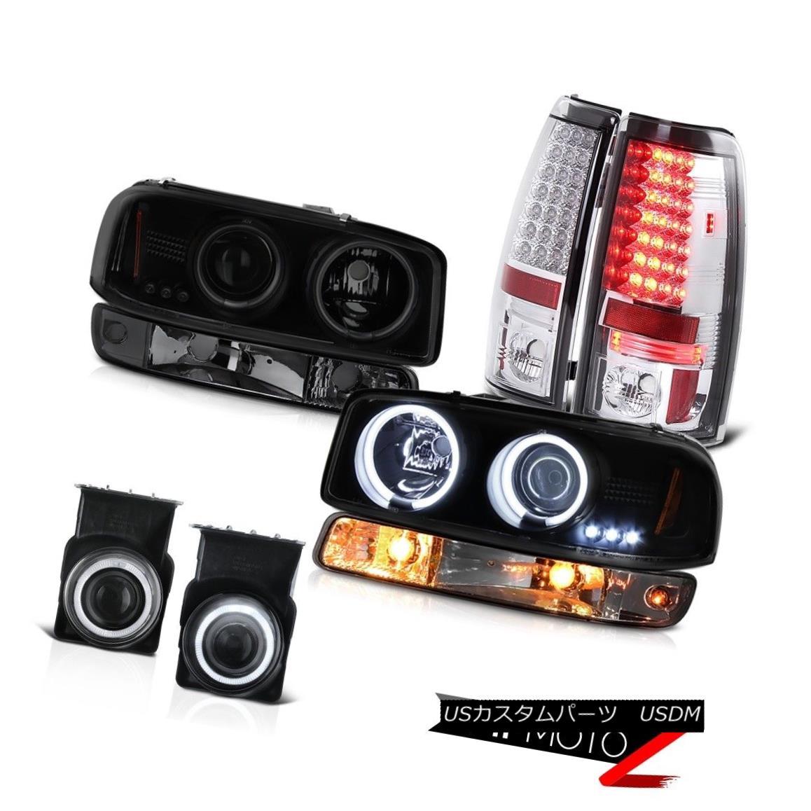 テールライト 03-06 GMC Sierra Fog lights taillights parking light smoke tinted headlights 03-06 GMCシエラ・フォグ・ライト・テールライト・パーキングライト・スモーク・ティント・ヘッドライト