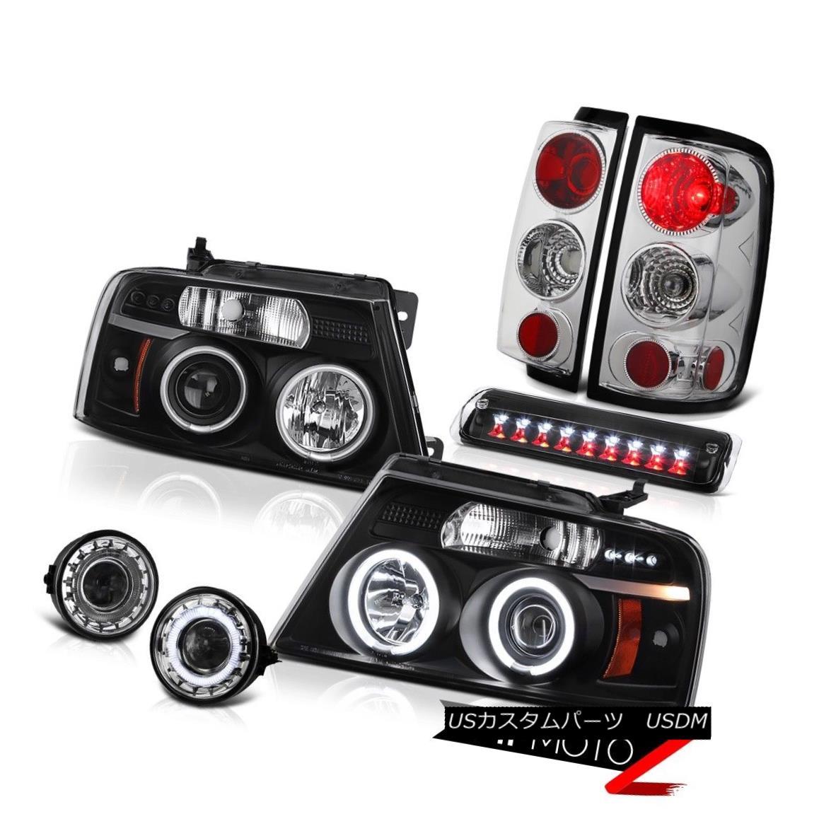 テールライト 2006-2008 Ford F150 STX Fog Lights Roof Brake Lamp Headlamps Tail Projector LED 2006-2008フォードF150 STXフォグライトルーフブレーキランプヘッドランプテールプロジェクターLED