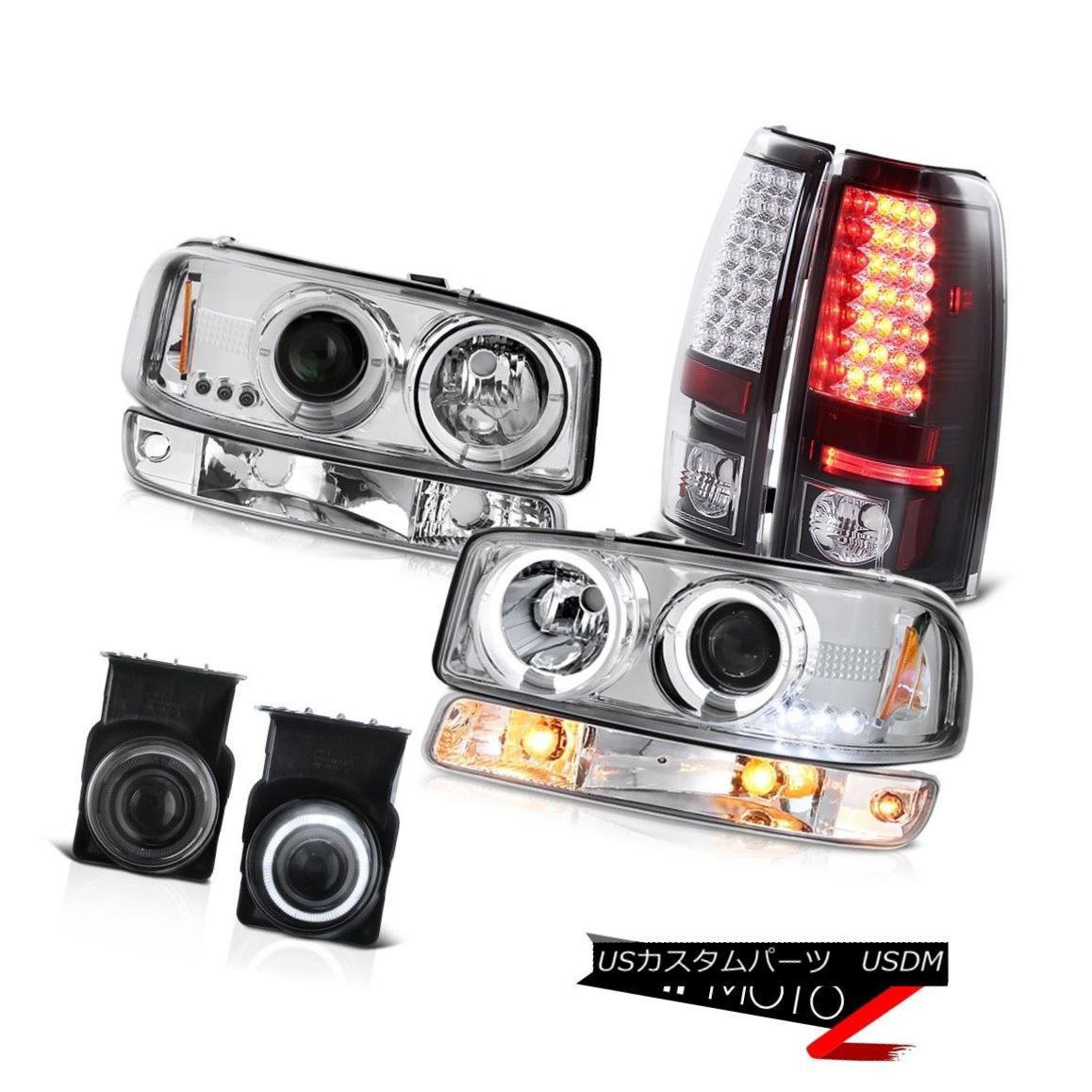 テールライト 2003-2006 Sierra C3 Fog lamps smd taillamps crystal clear turn signal headlamps 2003-2006シエラC3フォグランプsmdテールランプクリスタルクリアターンシグナルヘッドライト