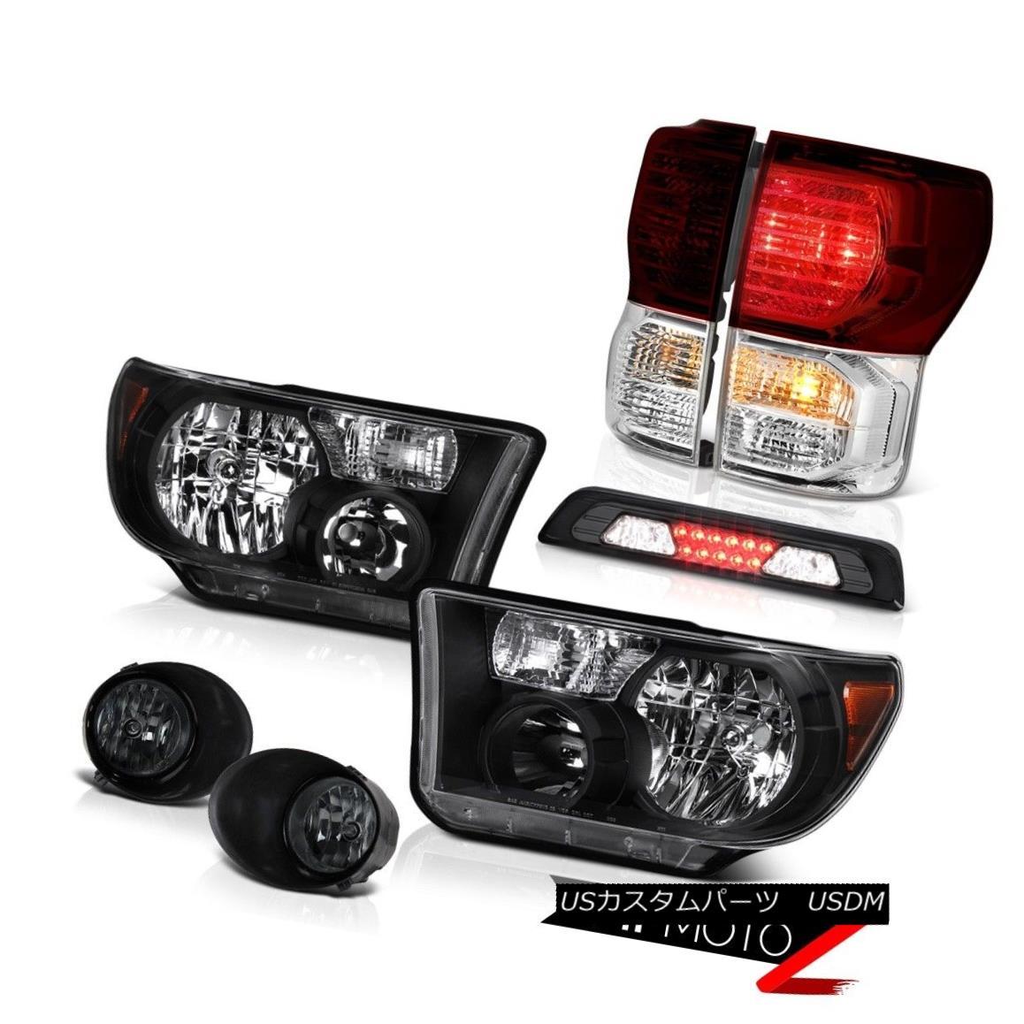 テールライト 2007-2013 Toyota Tundra SR5 Headlights Foglights Roof Brake Light Rear Lights 2007-2013トヨタトンドラSR5ヘッドライトフォグライトルーフブレーキライトリアライト