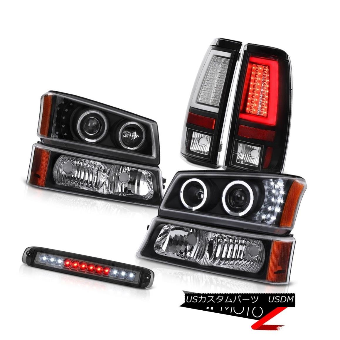 テールライト 03 04 05 06 Silverado Taillamps Roof Cab Light Signal Headlights Tron Style LED 03 04 05 06 Silverado TaillampsルーフキャブライトシグナルヘッドライトTron Style LED