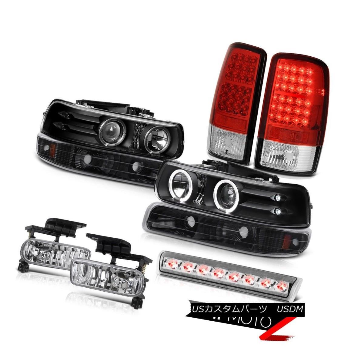 テールライト 00-06 Chevy Suburban LS Roof cab lamp foglamps red tail lamps parking Headlights 00-06シボレー郊外LS屋根のタクシーランプフォグランプ赤いテールランプパーキングヘッドライト