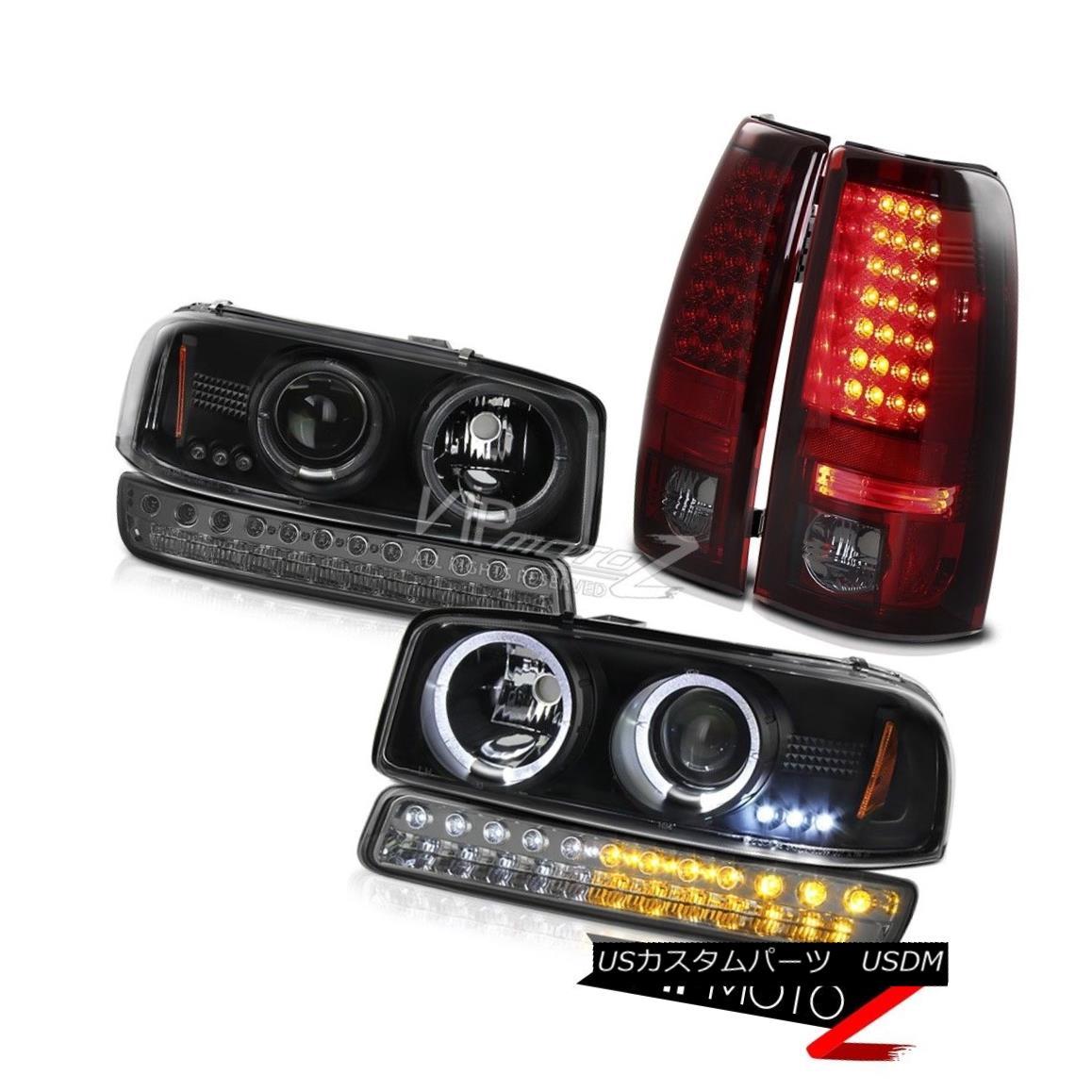 テールライト 1999-2006 Sierra SLT LED Parking Brake Lights dark Smoke Bumper Light Headlights 1999-2006シエラSLT LEDパーキングブレーキライトダークスモークバンパーライトヘッドライト