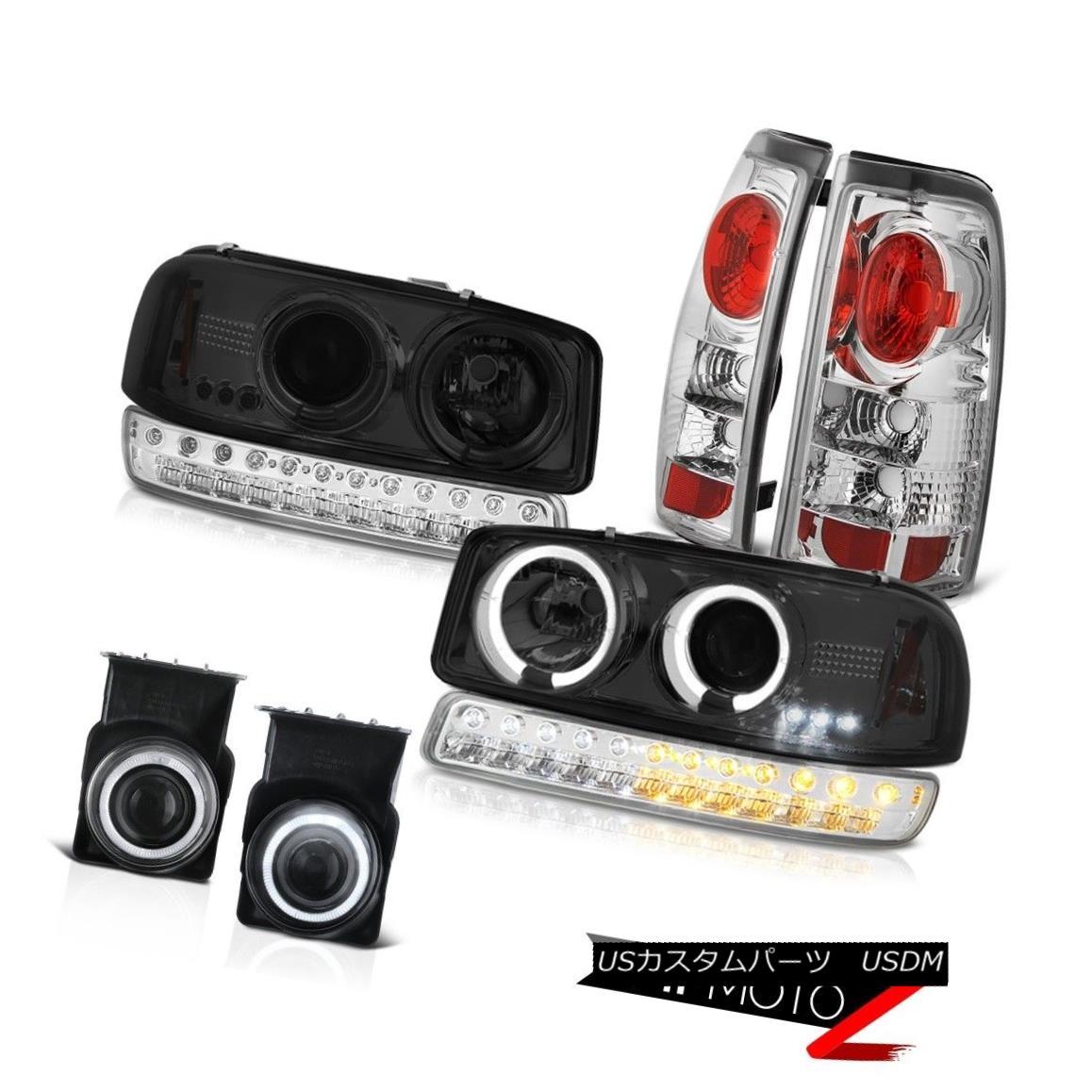 テールライト 03 04 05 06 Sierra 4.3L Fog Lamps Tail Bumper Lamp Phantom Smoke Headlights LED 03 04 05 06シエラ4.3LフォグランプテールバンパーランプファントムスモークヘッドライトLED