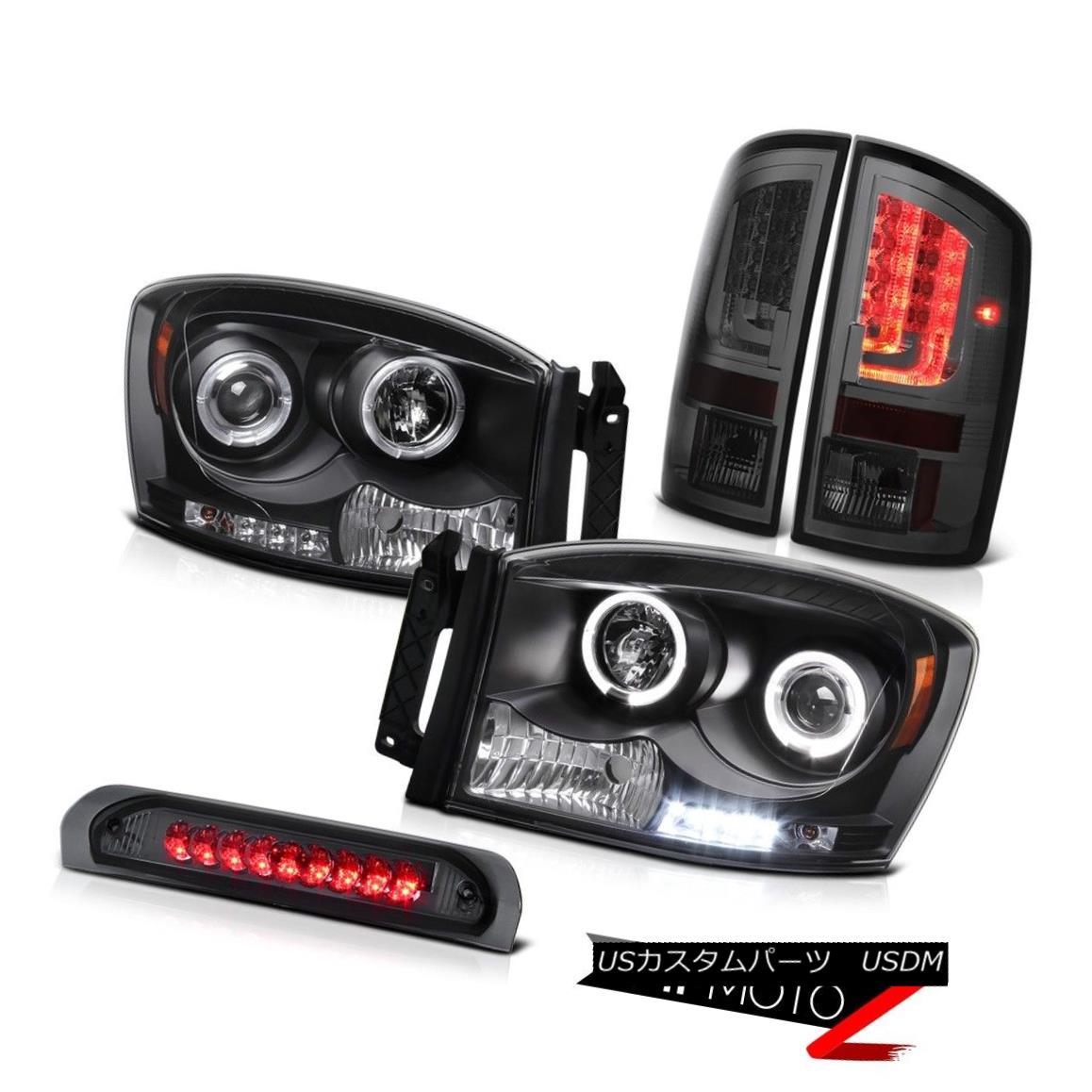 テールライト 2006 Ram ST Rear Brake Lamps Headlamps High STop Light Dual Halo