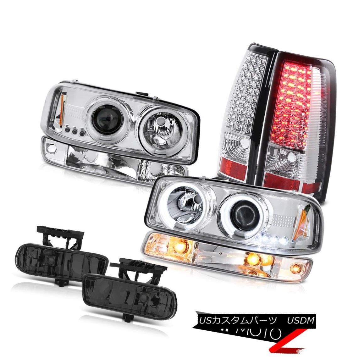 テールライト 99 00 01 02 Sierra C3 Foglamps chrome led taillamps bumper light ccfl headlights 99 00 01 02シエラC3フォグランプクロームledテールライトバンパーライトccflヘッドライト